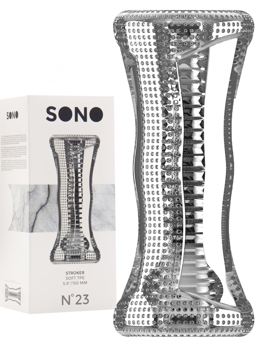 Stroker Soft TPE translucent - SONO No.23