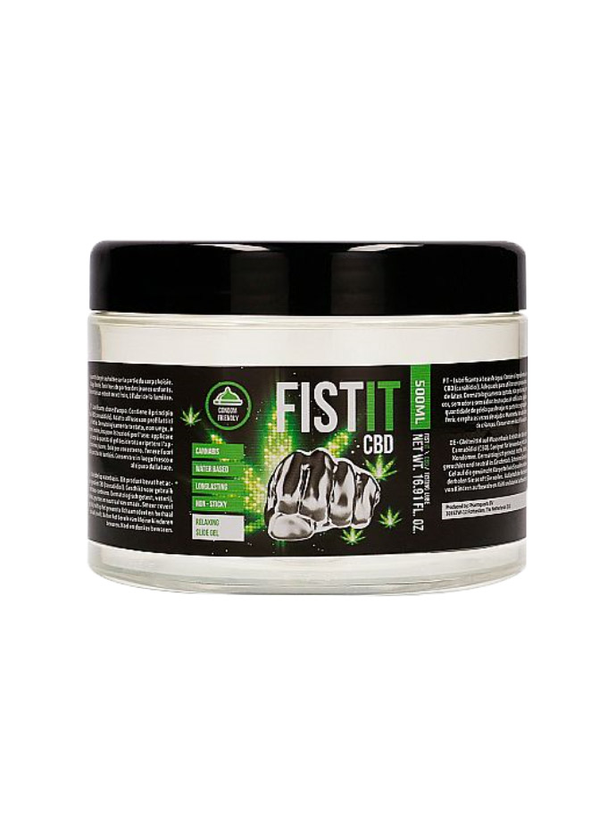 CBD FistIt - Water Based Lubricant 500 ml