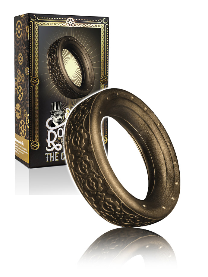 Dr. Roccos - The Coxs Cog Cock Ring Metallic
