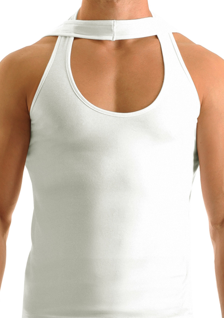 Modus Vivendi - Twin Tank Top White