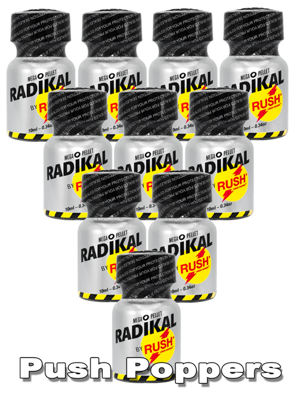 10 x RADIKAL RUSH small - PACK