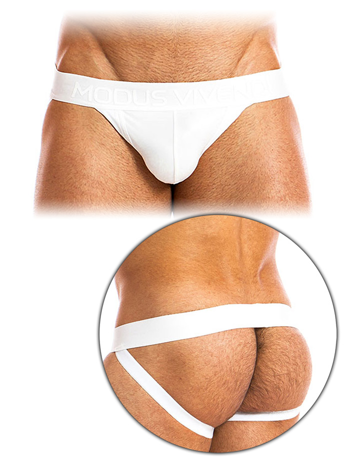 Modus Vivendi - High Tech Jockstrap - White