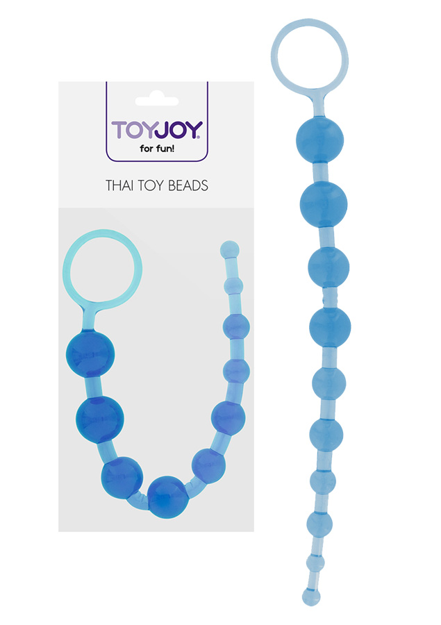Thai Toy Beads - Blue