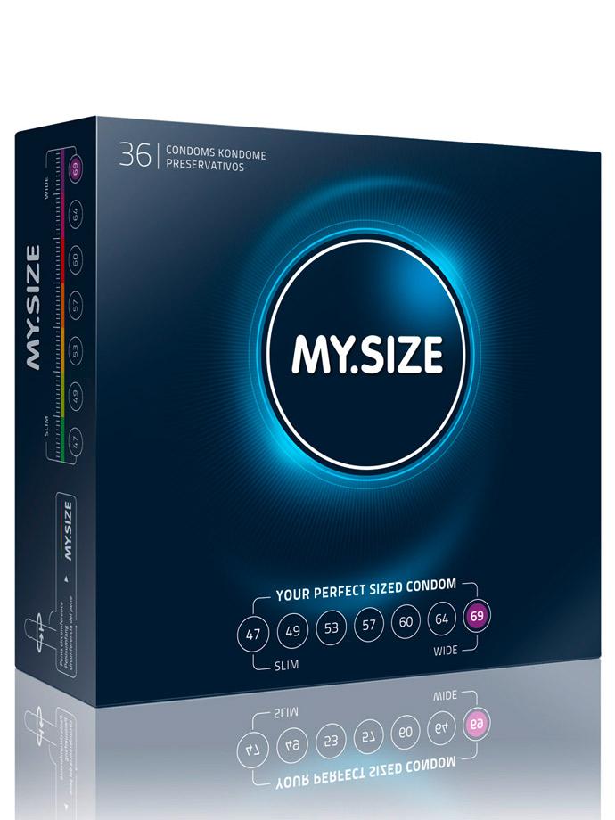 36 x MY.SIZE Condoms - Size 69