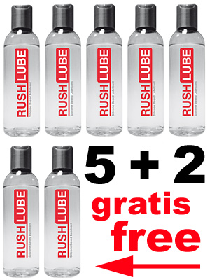 5 + 2 RUSH LUBE SILICONE PACK