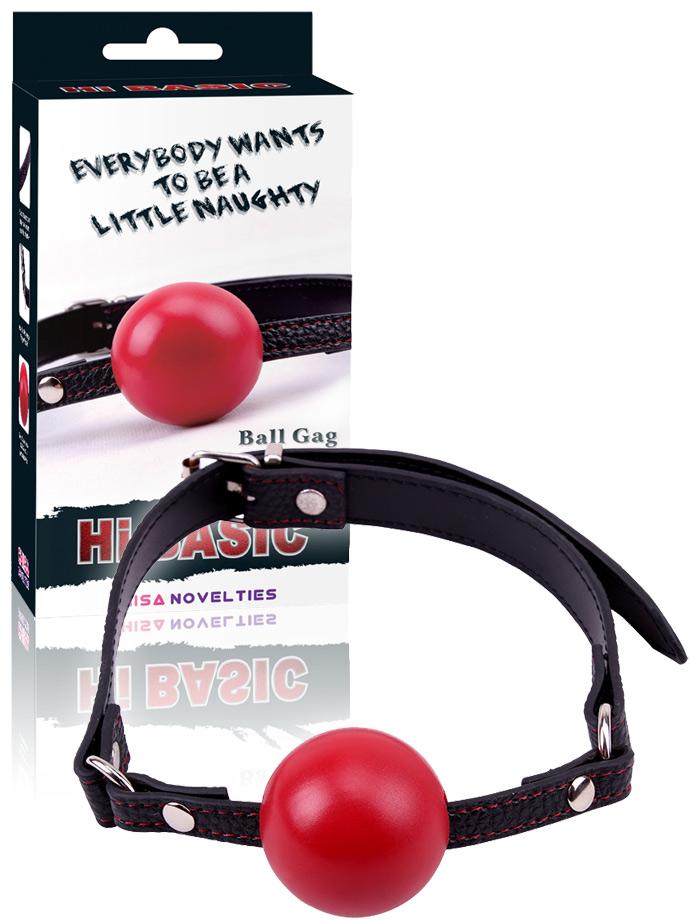 Hi-Basic Red Ball Gag