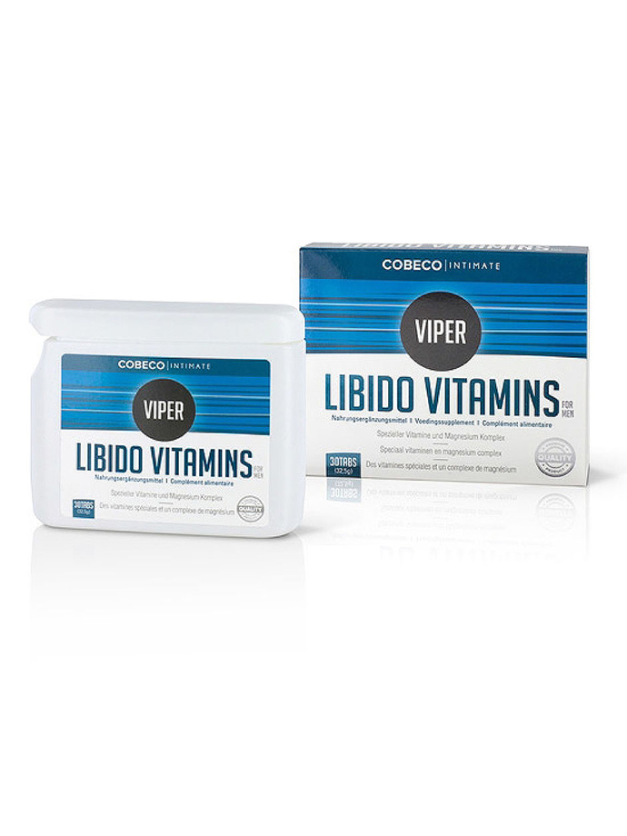Viper Libido Vitamins for Men 30 Tabs