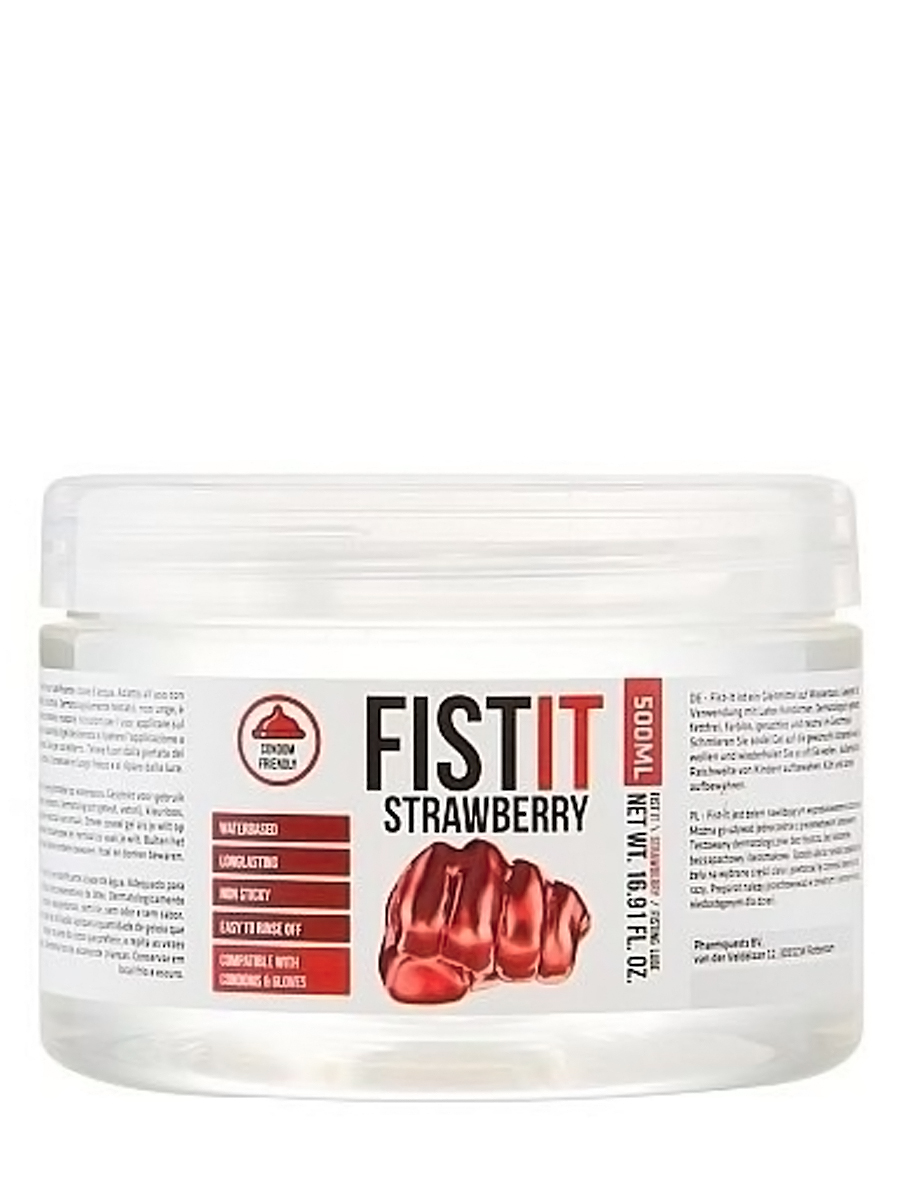 FistIt Strawberry Water Based 500 ml