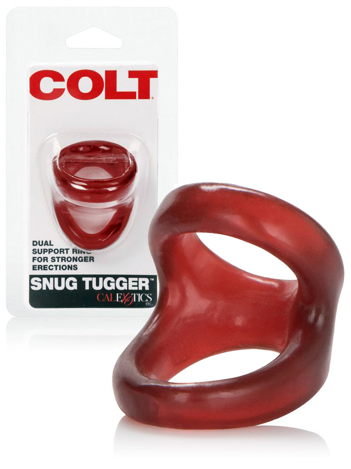 COLT Snug Tugger Double Cockring Red