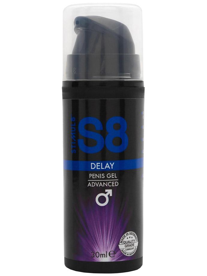 S8 Delay Penis Gel