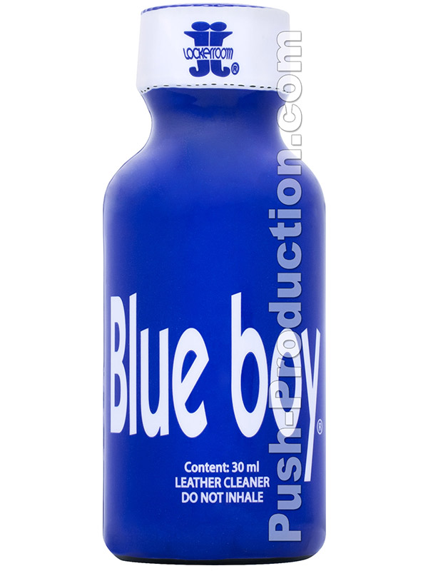 BLUE BOY big round bottle