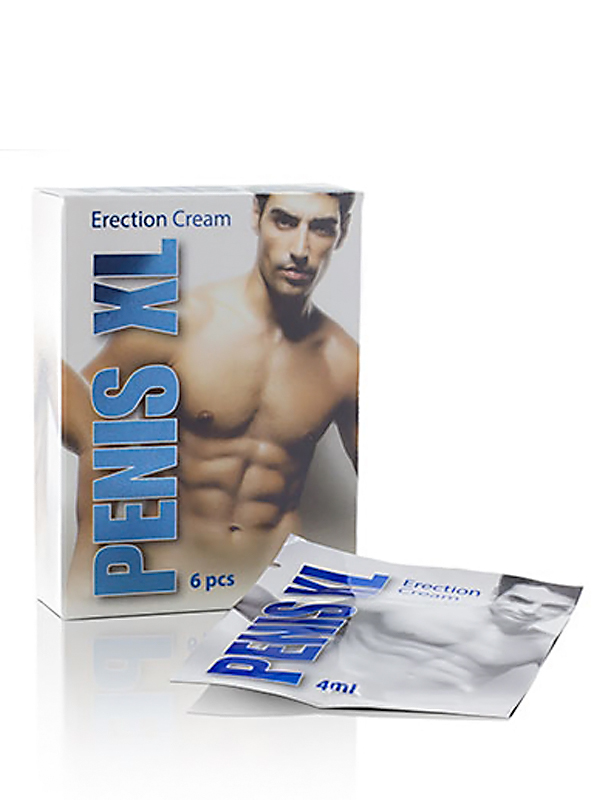 Penis XL Cream 6 x 4 ml Sachets