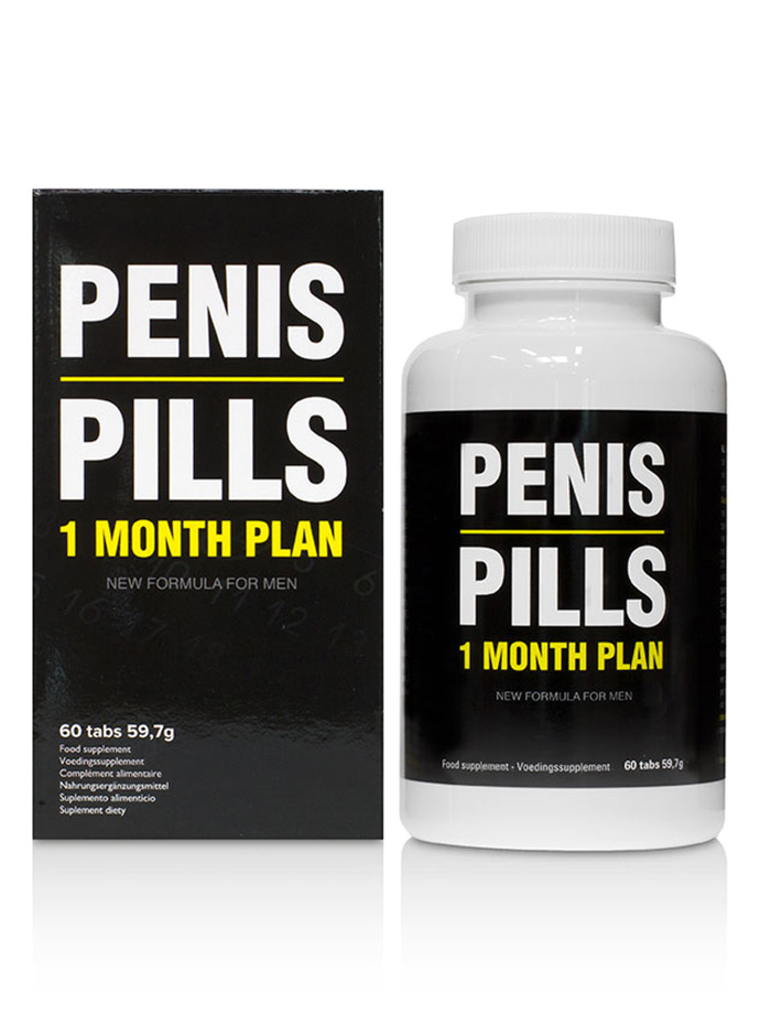 Penis Pills - 1 Month Plan - 60 Tabs