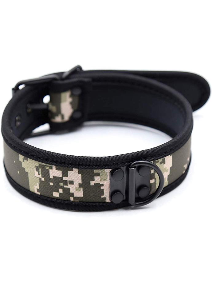 Pupplay Neoprene Collar - Camouflage