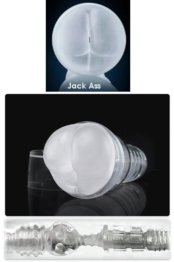 Ice Jack Ass Crystal Fleshjack