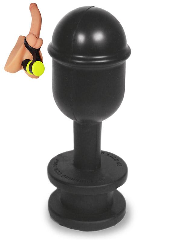 Hoolalass Plug Neck Lever Black