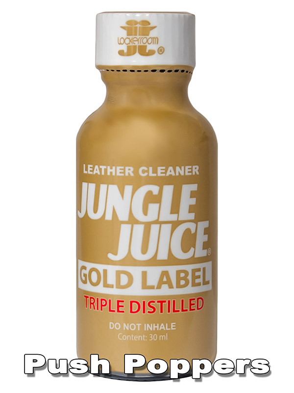 JUNGLE JUICE GOLD LABEL TRIPLE DISTILLED big