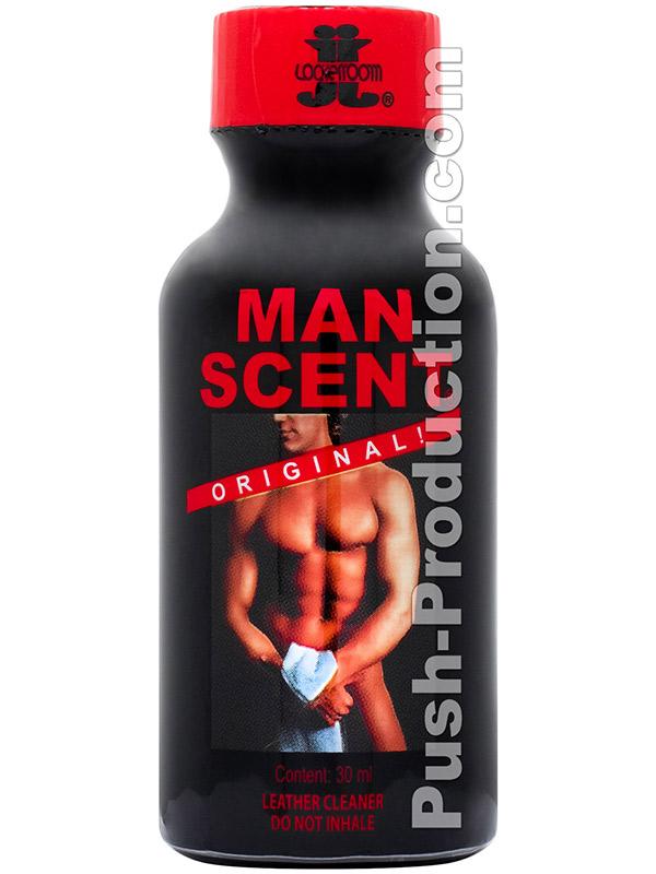 MAN SCENT big round bottle
