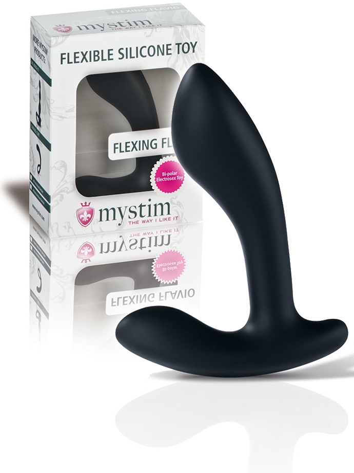 Mystim Flexing Flavio - Prostate Stimulator with E-Stim