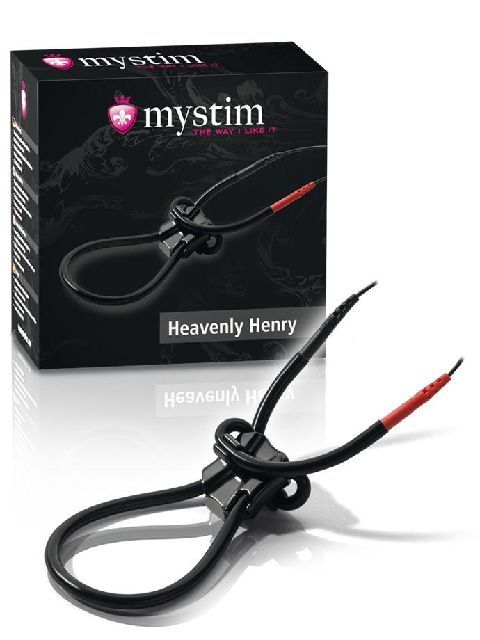 Mystim Heavenly Henry E-Stim Penis Strap