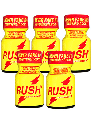 5 x RUSH - PACK
