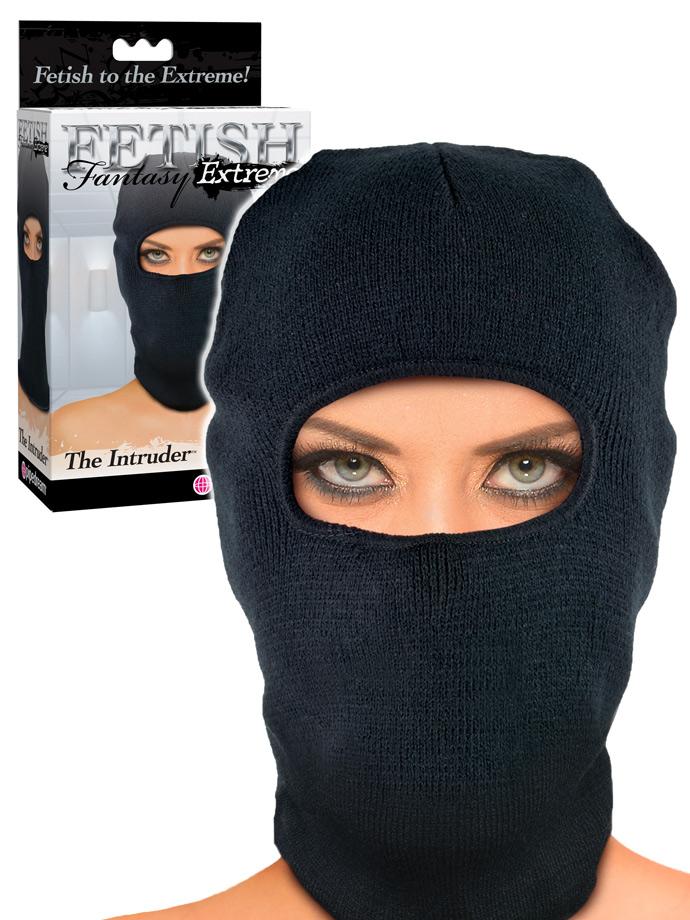 Fetish Fantasy - The Intruder Hood - Black
