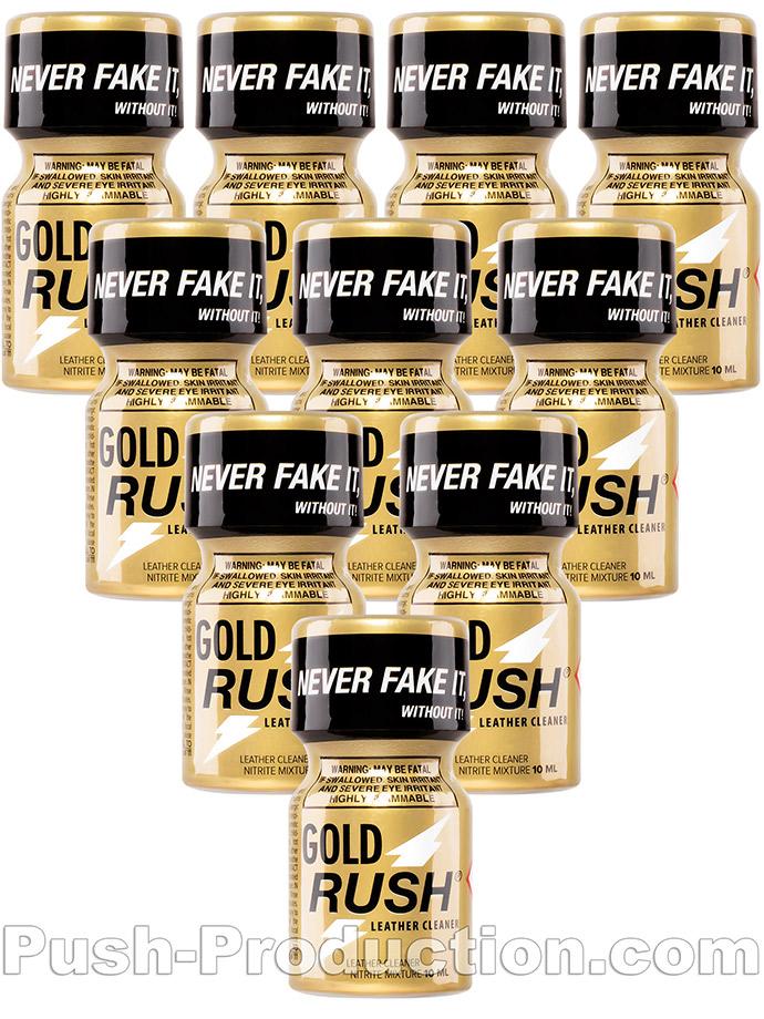 10 x GOLD RUSH - PACK