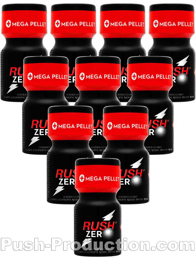 10 x RUSH ZERO small - PACK