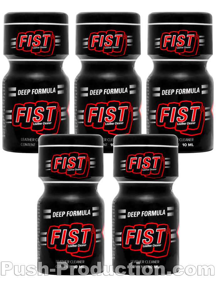 5 x FIST STRONG small - PACK