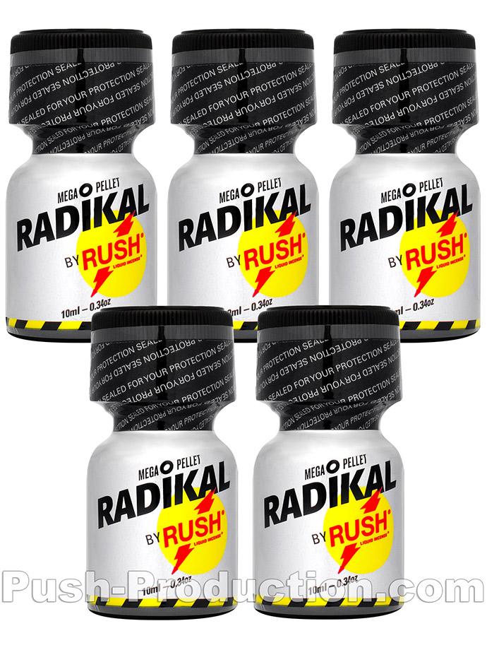 5 x RADIKAL RUSH small - PACK