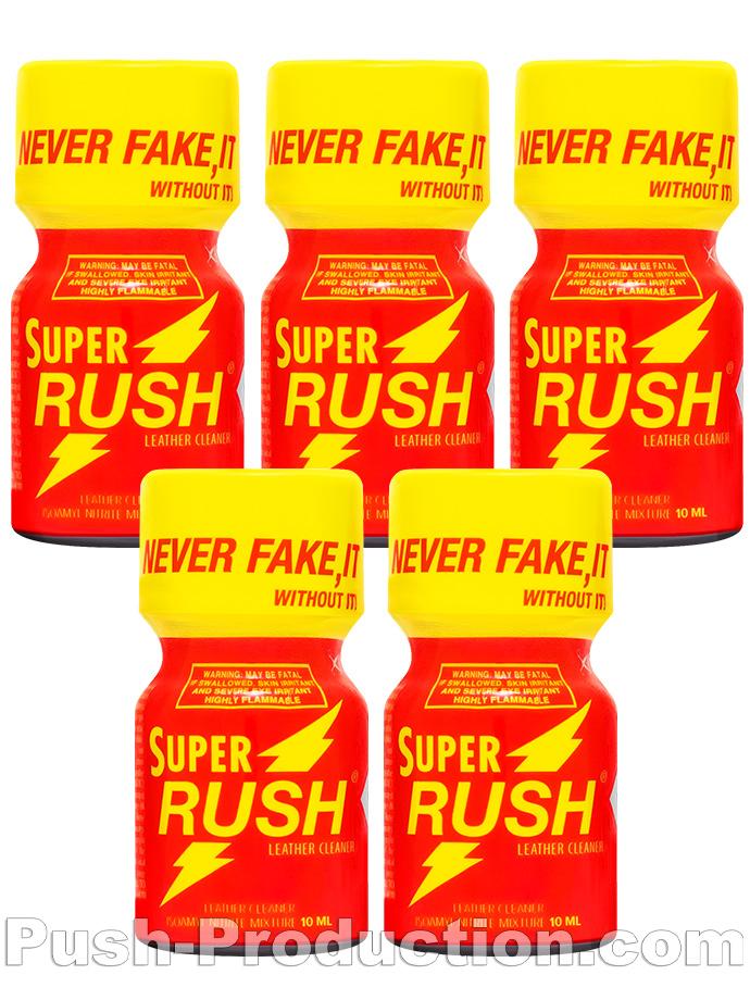 5 x SUPER RUSH - PACK