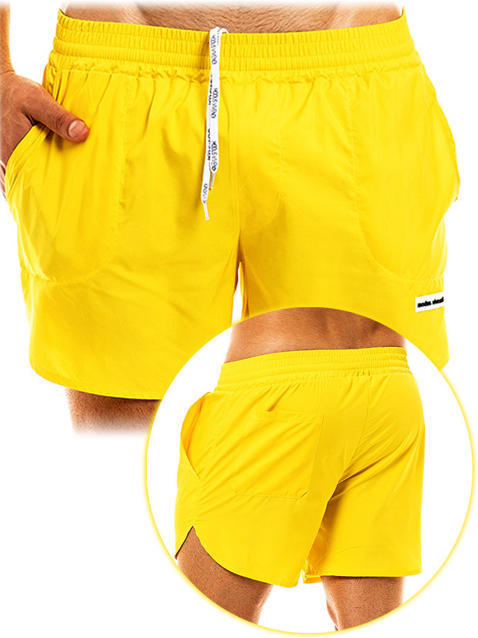 Modus Vivendi - Capsule Swimwear Short - Yellow