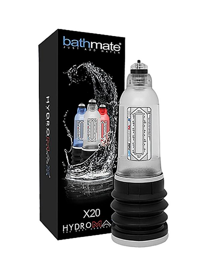Bathmate Hydromax X20 Penis Pump Clear