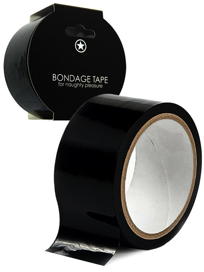 OUCH! Bondage Tape 20m - Black