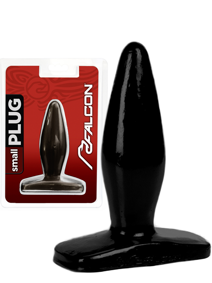 Falcon Buttplug - black - small