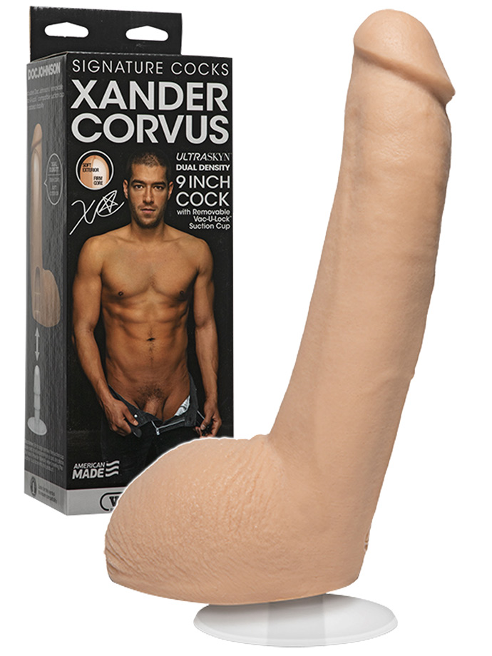 Signature Cocks - Xander Corvus 9 inch Cock
