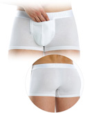 Modus Vivendi - Hole Pocket Boxer - White