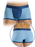 Modus Vivendi - Perforated Boxer - Blue