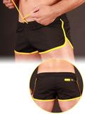 Barcode Gym Short Black/Yellow