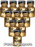 10 x GOLD RUSH - PACK