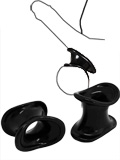 Ball Stretcher TPR Ergo (2x) Black