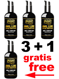 3 + 1 PUSH Anal Lube Silicone Gold Edition 250 ml