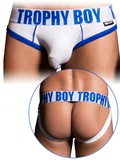 Andrew Christian - Trophy Boy Brief Jock - White