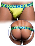 Andrew Christian - CoolFlex Sports Jock with Show-It - Lime