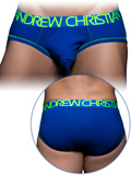 Andrew Christian - Almost Naked Tagless Cotton Brief - Royal