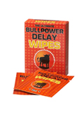 Bull Power Wipes Delay Sachets 6 x 2 ml