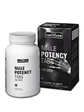 CoolMann Male Potency Tabs - 60 tablets