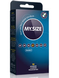 10 x MY.SIZE Condoms - Size 57