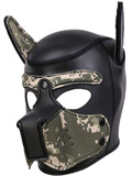 Pupplay Dog Mask - Camouflage