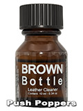 BROWN BOTTLE LEATHER CLEANER